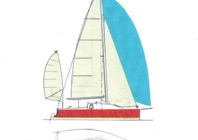 Trekka 7.6 Mtr Concept Sketch